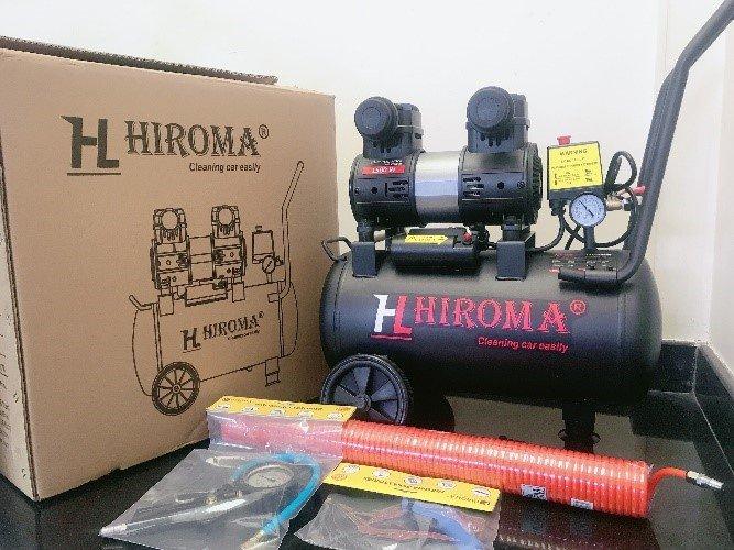 Đập hộp Máy nén khí chính hãng HIROMA DHL- 0530 Plus