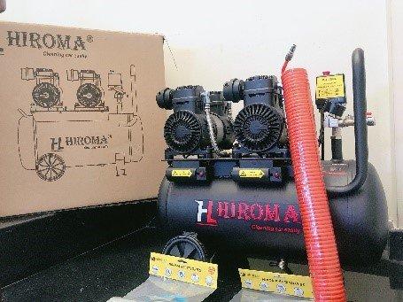 Full - Máy nén khí chính hãng HIROMA DHL- 0550