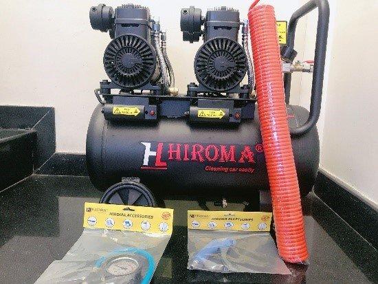 Máy nén khí chính hãng HIROMA DHL- 0550